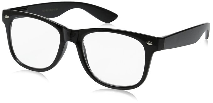 Black Retro Rocker Deluxe Readers