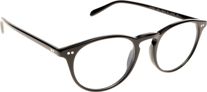 Oliver Peoples Black Riley R Eyeglasses