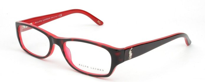 Ralph Lauren RL6058 Havana Red Eyeglasses