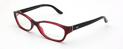 Ralph Lauren RL6068 Transparent Red Eyeglasses