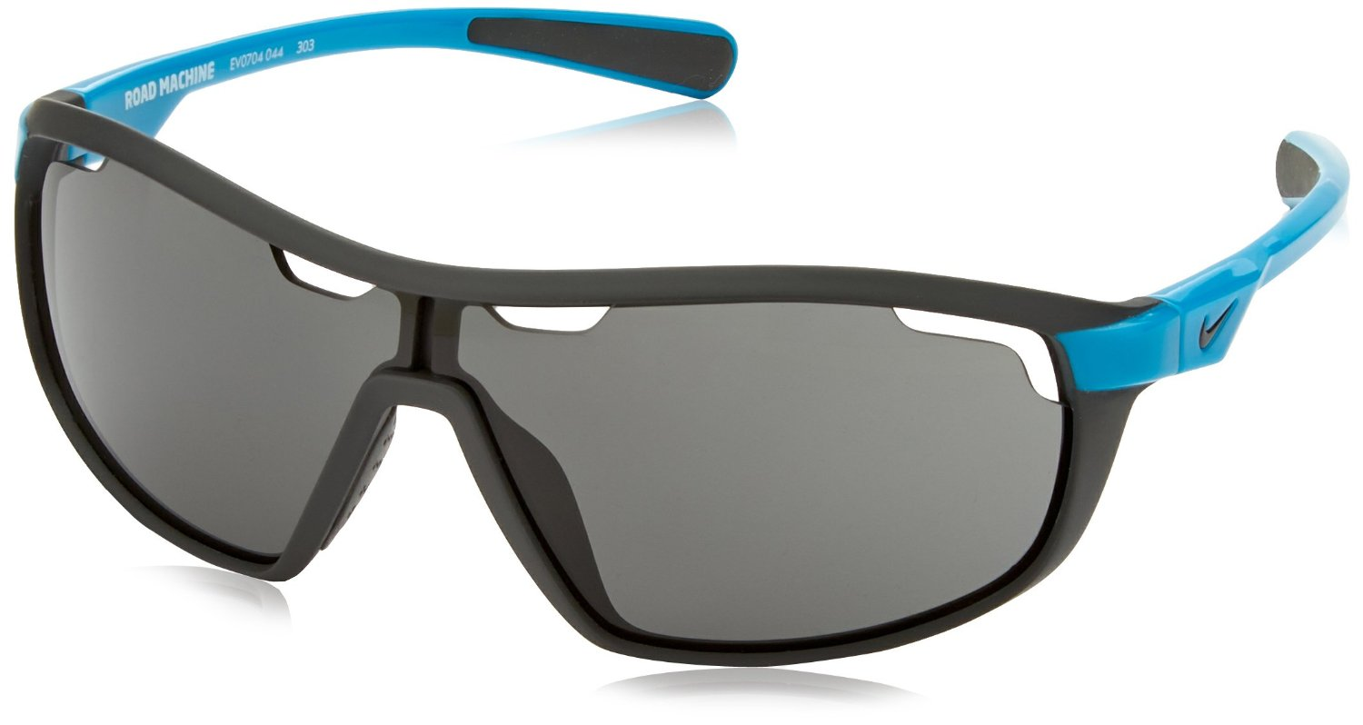 Nike Midnight Stadium on Neo Turquoise Road Machine Sunglasses