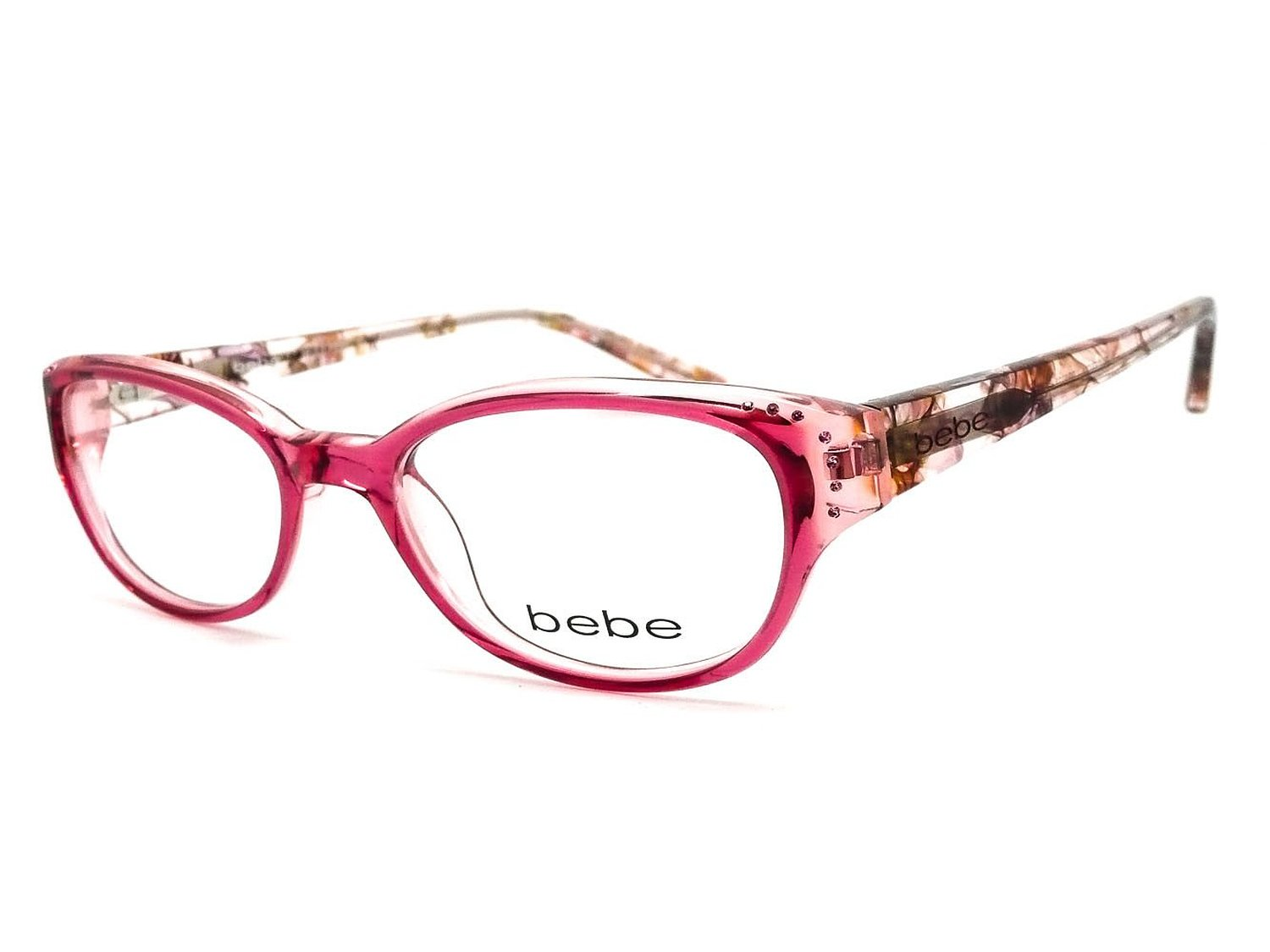Bebe rose eyeglass frames