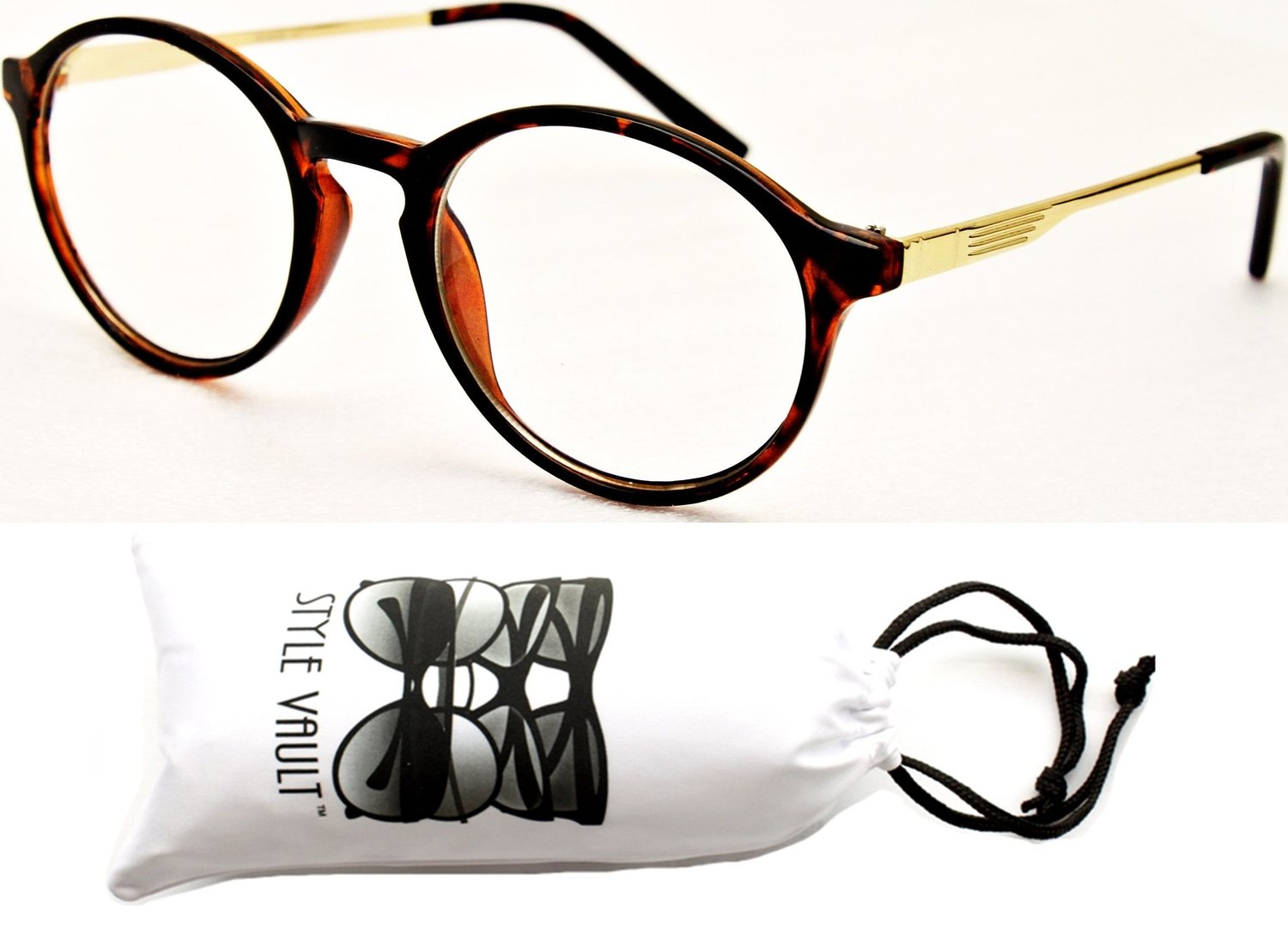 Round and Trendy Cool Retro Eyeglasses