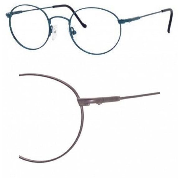 Safilo Team Pewter Eyeglasses