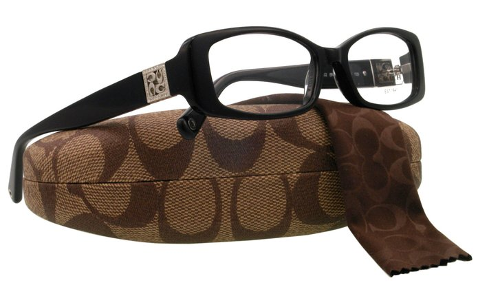 Coach Black Satin Glasses