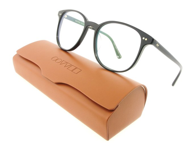 Oliver Peoples Black Scheyer Eyeglasses