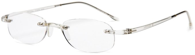 Scojo Gels Rimless Reading Glasses