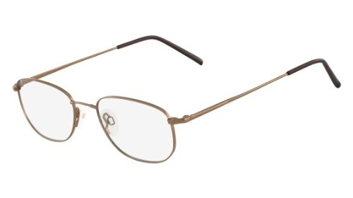 Flexon Shiny Brown Eyeglasses