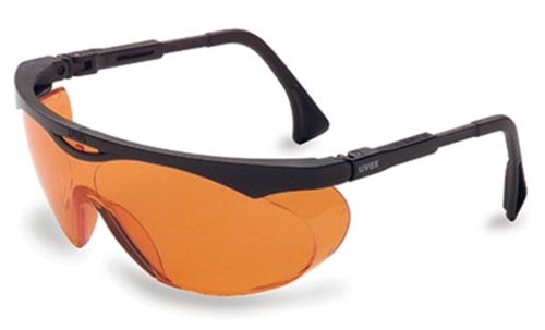 Uvex Skyper Protective Eyewear with Extreme Orange Anti-Fog Lens