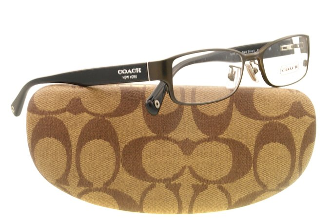 Coach Satin Silver Spenser Eyeglasses