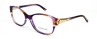 Versace Super Cool Striped Violet Eyeglasses