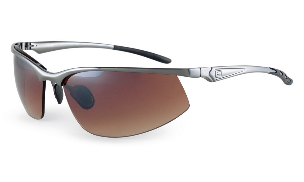 Sundog KP Gun Metal Frame Sunglasses with Gradient Mirror Lens