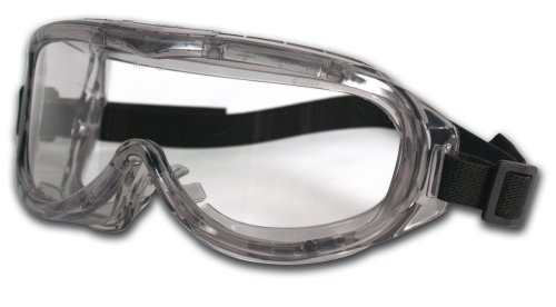 Tekk Virtua Anti-Fog Clear Safety Glasses