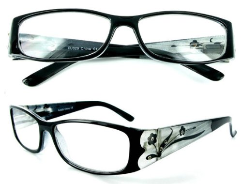 Read in Style with Tiffany's Garden designer fashion reading glasses