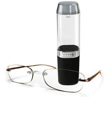 Cross Precision Topaz Reading Glasses with Coated Aspheric Lenses