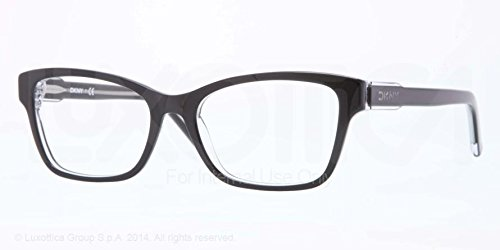 DKNY Top Black Eyeglasses