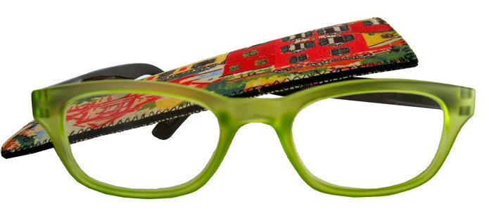 ICU Translucent Oval Two Tone Reading Glasses