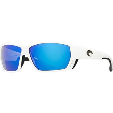 Costa Del Mar Tuna Alley White and Blue Polarized Sunglasses