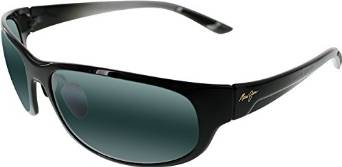 Maui Jim Twin Falls Gloss Black Sunglasses