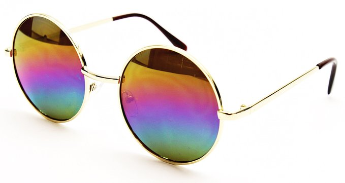 Gold Rainbow Shades