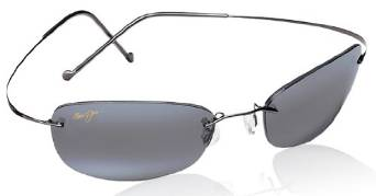 Jim Maui Wailea Gunmetal with Gray lenses Sunglasses