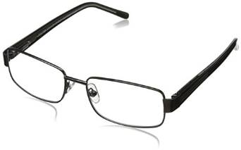 Foster Grant Wes Men's Rectangular Multifocus Glasses