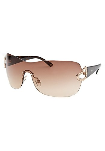 Bebe Havana Shield Sunglasses