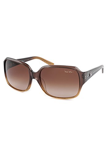 Nicole Miller Stanton Fashion Sunglasses in Brown and Burgundy
