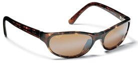 Maui Jim Tortoise Cyclone Sunglasses with Bronze Lenses