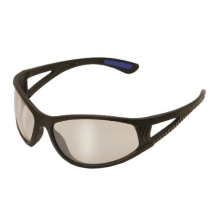 Super cool Safety Glasses with Black Frame and Mirror Lens
