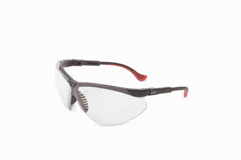 Uvex S3240X Genesis Safety Eyewear with a cool Vapor Blue Frame