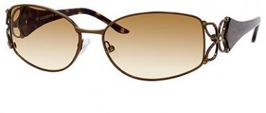 Sleek and Sexy Light Gold Sunglasses by Liz Claiborne