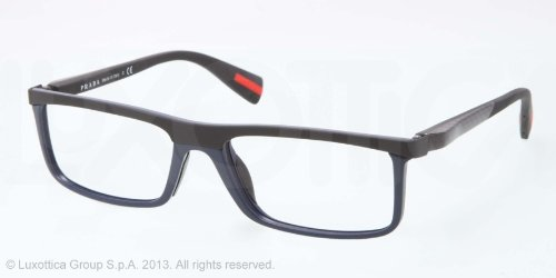Prada Linea Rossa Eyeglasses with cool Baltic Demi Shiny Frame