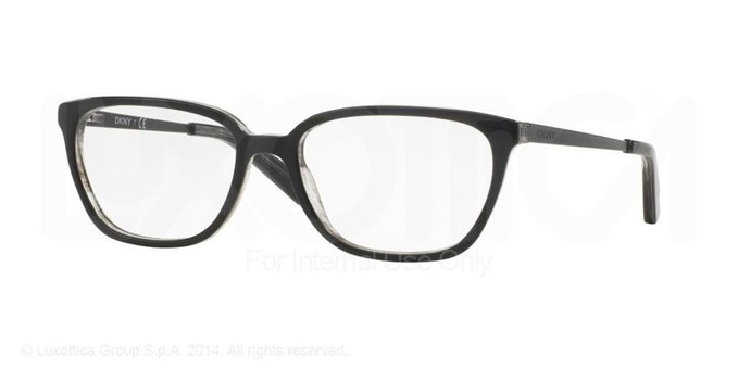 Spotted grey Eyeglasses by Donna Karan