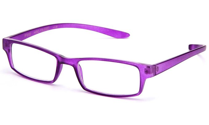 Glossy Translucent Zebra Colored Reading Glasses